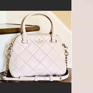 Kate Spade Mini Quilted Crossbody Satchel